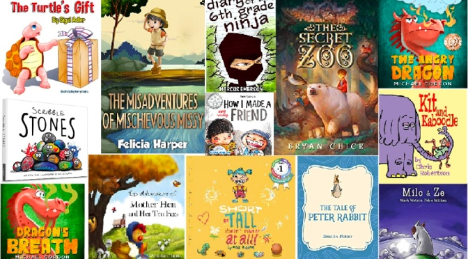 CHILDREN'S LITERATURE – FREE TO READ ON KINDLEUNLIMITED JUNE 2020